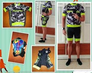 Image 2 - Conjunto de Ropa para ciclismo para hombre, Ropa de verano del 2020 para carreras, traje transpirable para ciclismo de montaña o carretera