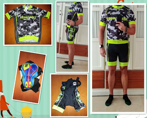 Image 2 - Cyclisme Jersey ensemble 2020 été hommes cyclisme vêtements course vélo vêtements costume respirant vtt vélo vêtements Ropa bicicleta
