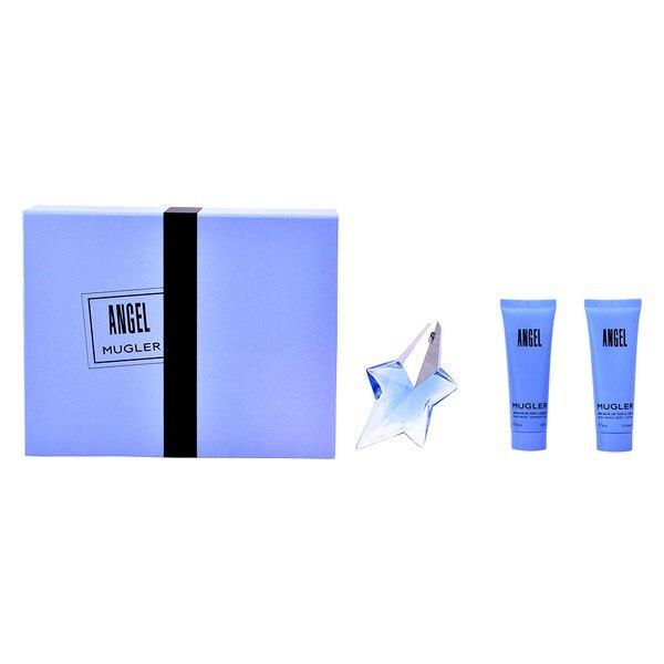 Women's Perfume Set Angel Mugler Thierry Mugler (3 pcs) Blue Black angel perfume by thierry mugler for women eau de parfum spray 0 8 oz 25 ml refillable page 10