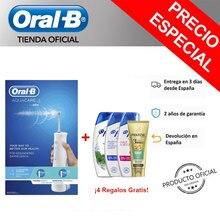 Oral-B Aquacare Irrigador dental portátil Tecnología Oxyjet de Microburbujas Irrigador Oral B Irrigador Braun Oxyjet