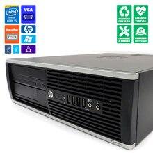 HP 8300 SFF ordenador reacondicionado i5-3470 8GB-RAM DVD/RW Gráfica nueva MSI GeForce GT710 2GB HDMI/DVI WiFi Windows 10 Home