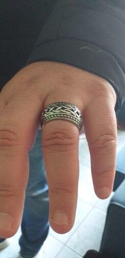 טבעת לגבר ויקינג דגם 0367 photo review