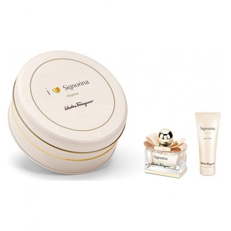 FERRAGAMO SIGNORINA ELEGANZA EDP 30ML + BODY LOTION 50ML