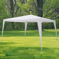 Gazebo Detachable White 3x3 meters      -