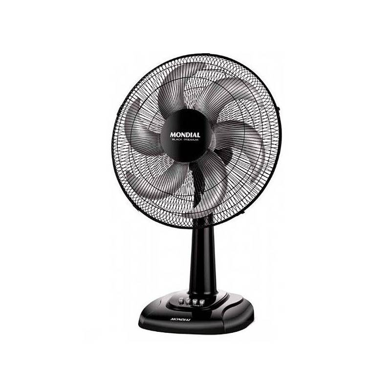 Fan Desktop Mondial V64 85W 40 Cm Black