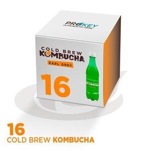 BOX COLD BREW KOMBUCHA EARL GREY BIO (16x500ml)