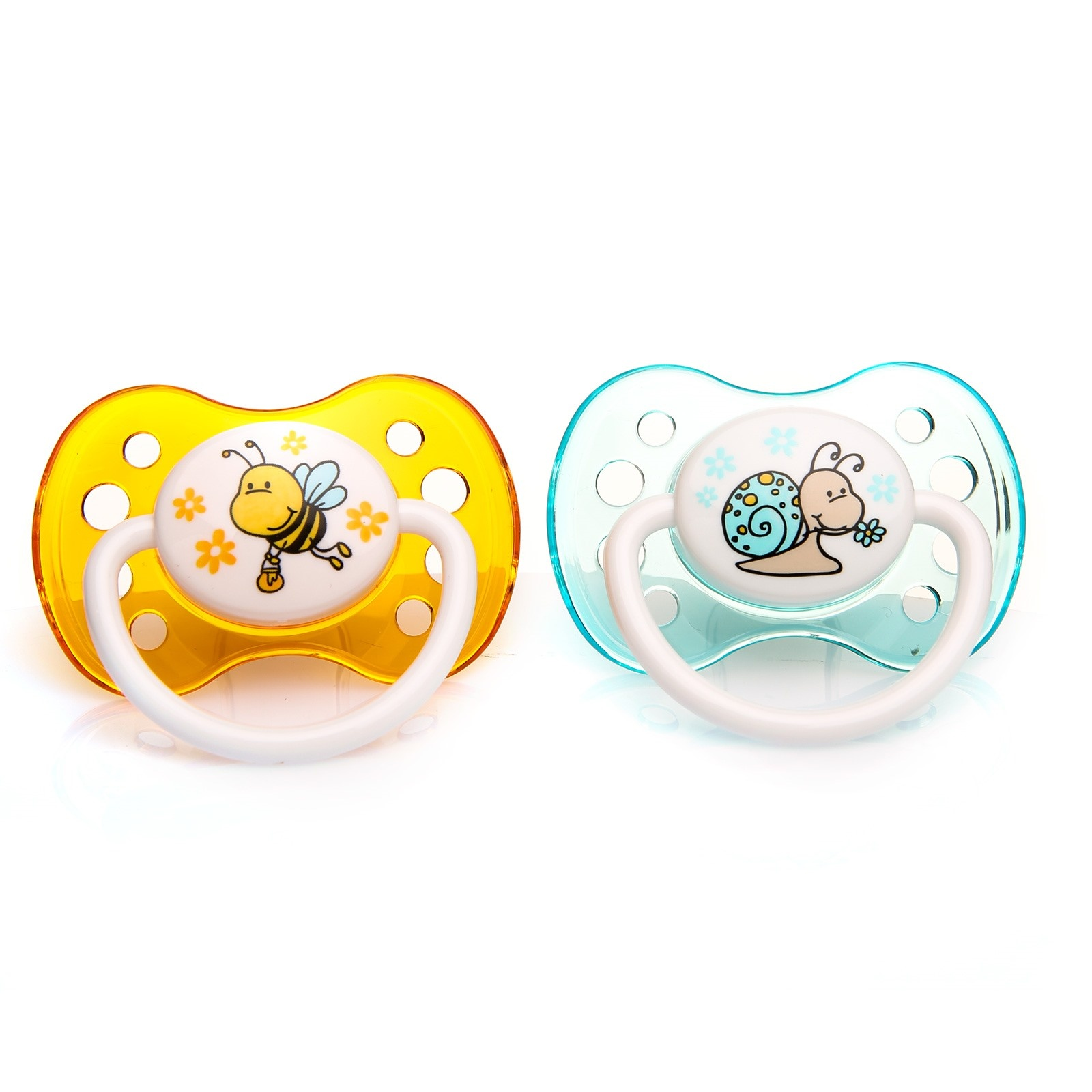 Ebebek Baby&plus Silicone Soothers 2 Pcs 0-6 Months