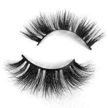 LOVE THANKS Wholesale 30 pairs/pack 3D Real Mink Eyelashes Bulk lot Full Strips Original Mink Lashes no Box Volumn Extension S14