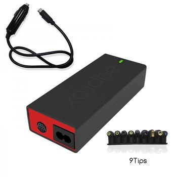 APPROX APPUA100BRCP UNIVERSAL laptop charger + car-100W-automatic-18.5/20V-adapter for car-9 pins