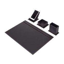 Vega Настольный набор 4 шт. (настольный органайзер, офисные аксессуары, аксессуары для стола, офисные принадлежности, офисный органайзер)