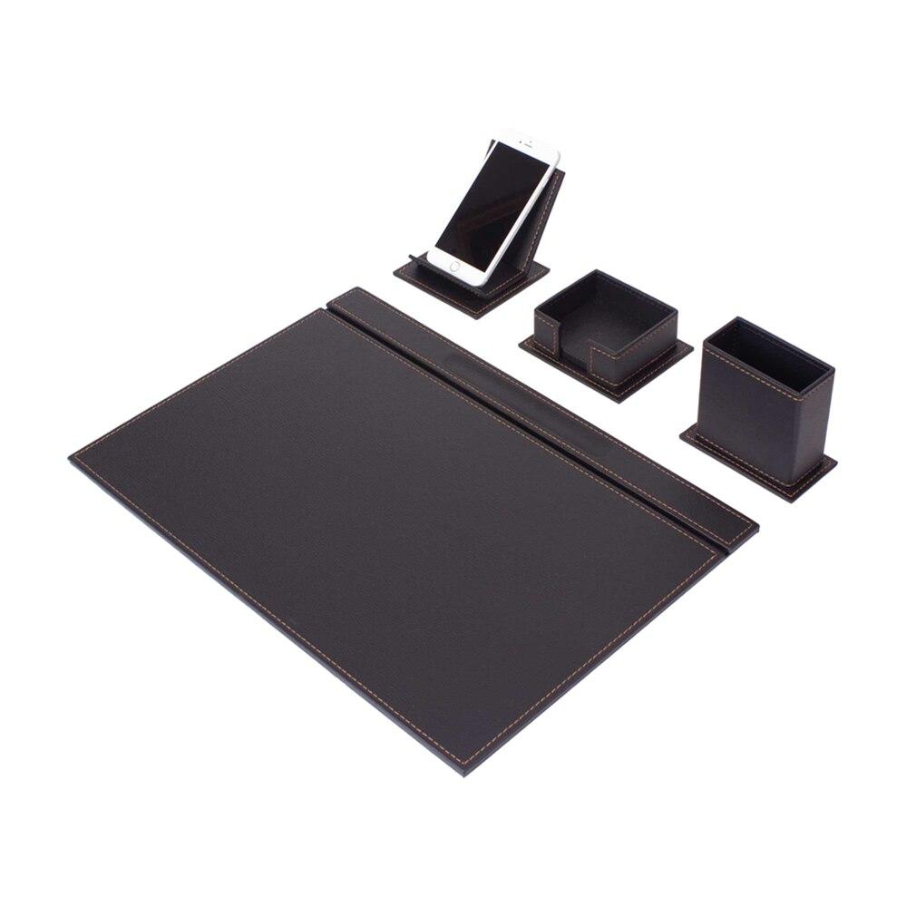 Vega Desk Set 4 Pieces (Desk Organizer Office Accessories Desk Accessories Office Supplies Office Organizer)