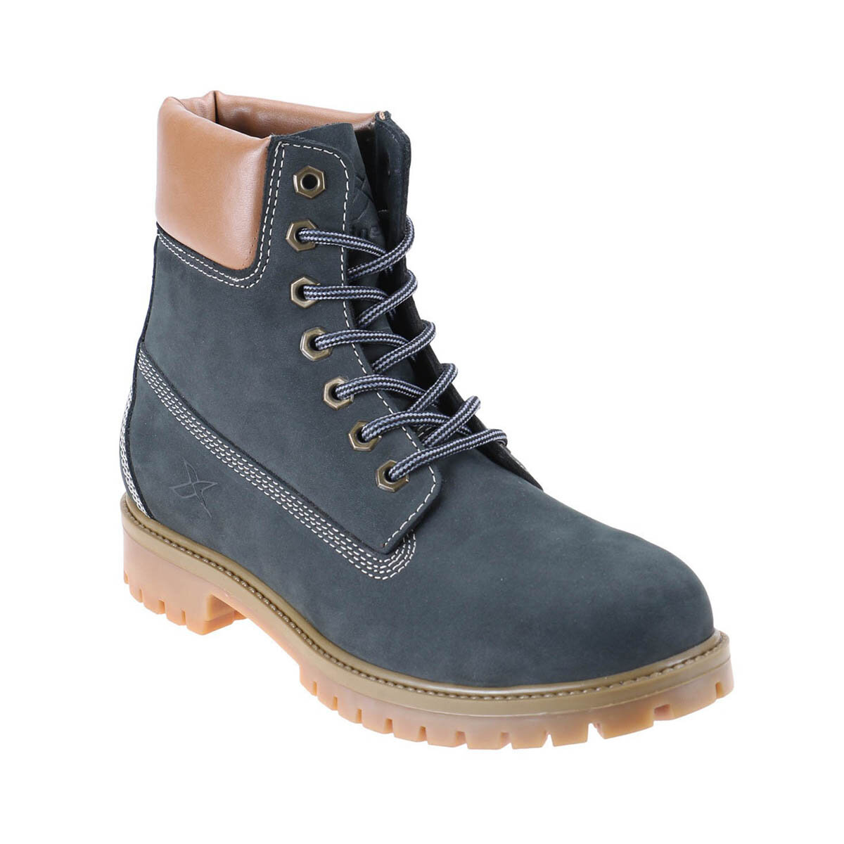 FLO 1252634 Navy Blue Men 'S Boots KINETIX