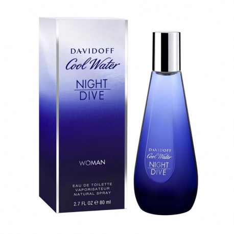 COOL WATER WOMAN NIGHT DIVE EDT 80ML