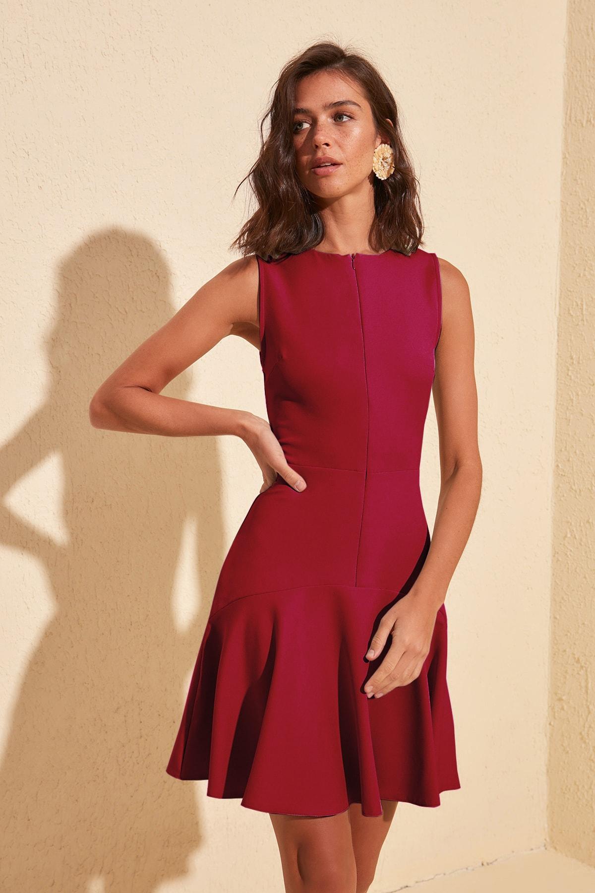 Trendyol Zipper Detail Dress TWOSS20EL1124