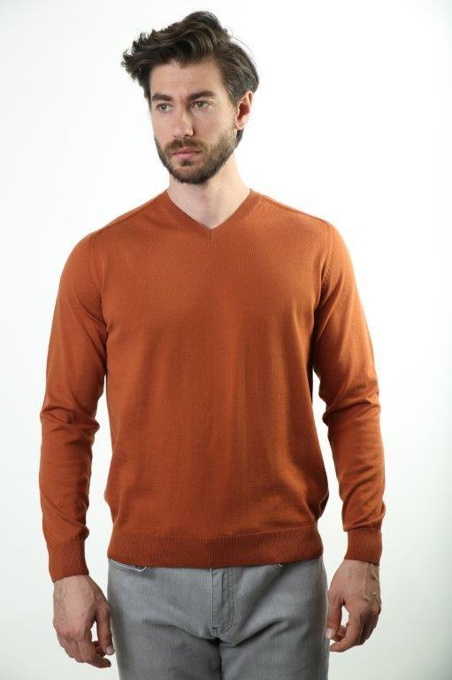 Sweater V-Neck Male Sweater 2982-1