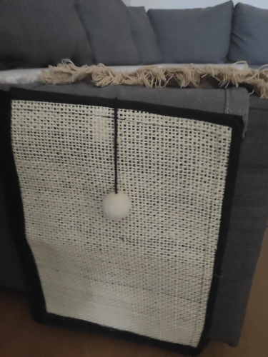Cat Scratch Board Table Sofa Protection Mat photo review