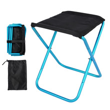 Folding Chairs Camping Seat Ultralight Travel Picnic Fishing Hiking Outdoor Portable