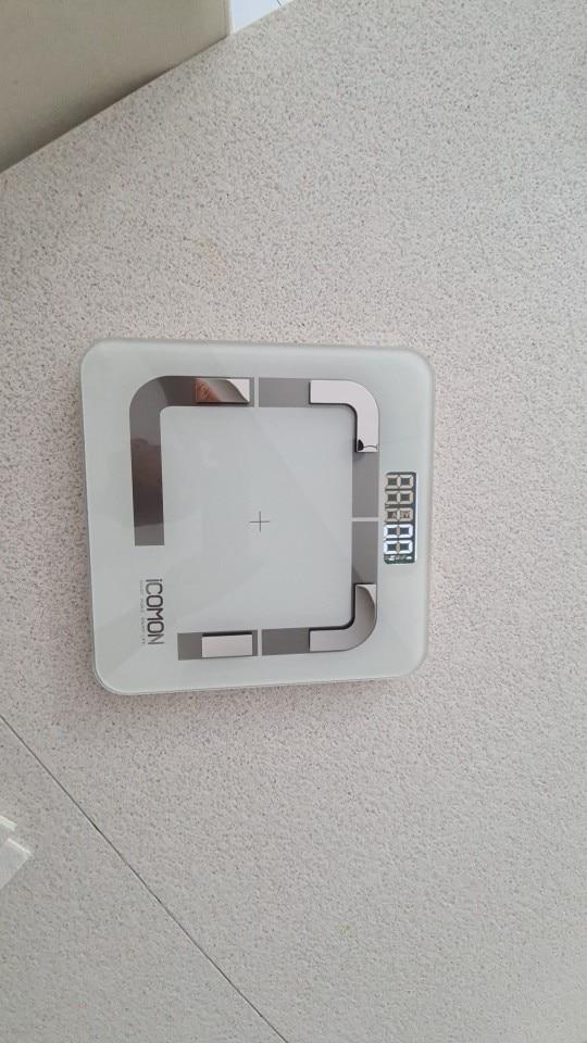ICOMON i31 Smart Body Weight Scale Digital Bathroom Body Fat mi Scale Bluetooth Human Weight bmi Weighing Scales Floor balance|Bathroom Scales|   - AliExpress
