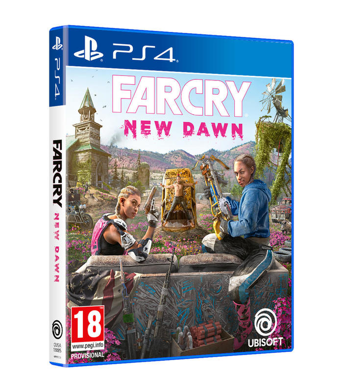Far Cry New Dawn Ps4 Playstation 4 Games Ubisoft S.A. Age 18 + image