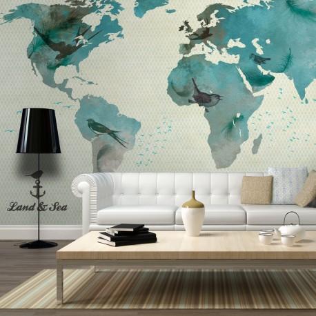 Photo Wallpaper-To Bird's World