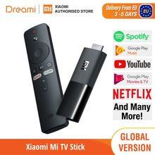 Xiaomi-Mi TV Stick versión EU, nuevo, cuatro núcleos, Cortex-A53, sellado, Google Cast, Netflix