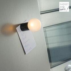 Gadget en Geschenken LED gloeilamp koelkast magneet