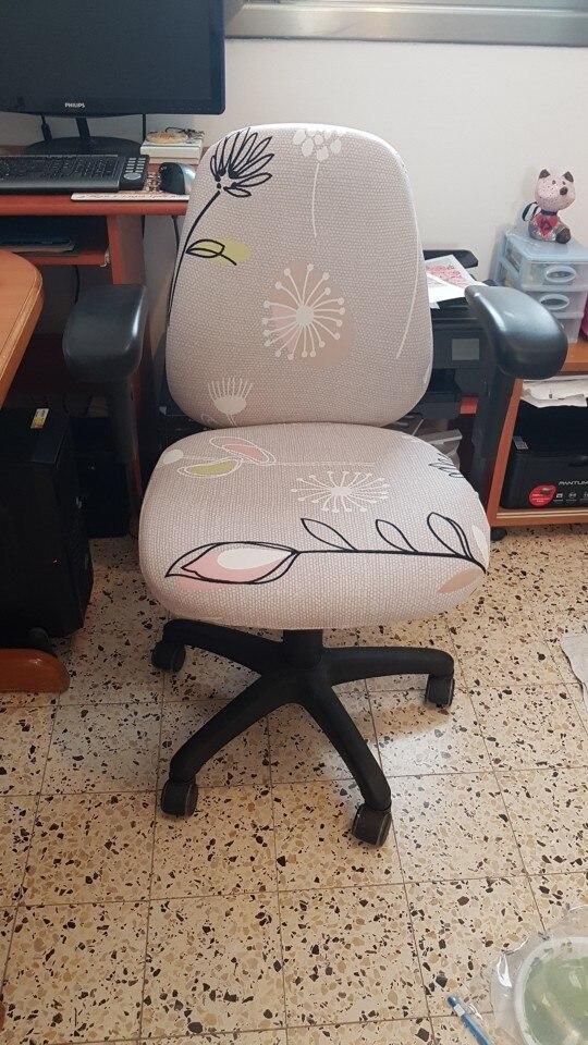Capa p/ cadeira tecido divisão cadeira