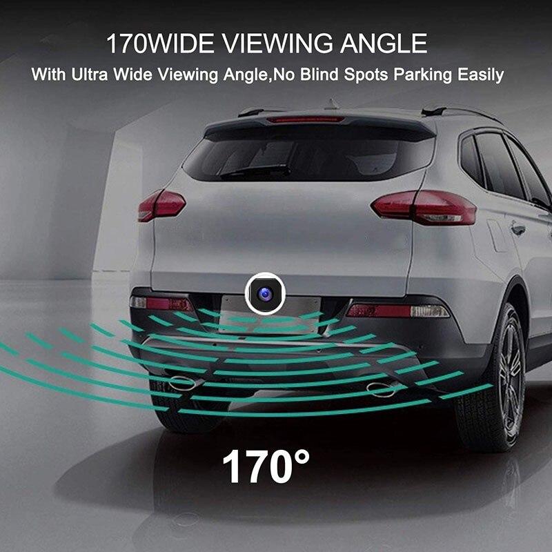 Новая Автомобильная камера заднего вида, универсальная HD камера ночного видения, запасная парковочная камера 170, широкоугольная Водонепроницаемая камера заднего вида s для заднего вида