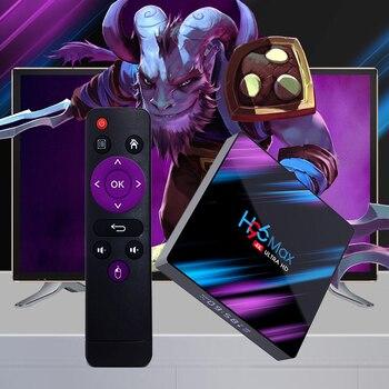 цена на Android 10 10.0 TV Box 4GB RAM 32GB 64GB ROM Set Top Box RK3318 4K 2.4G/5G WiFi Bluetooth smart Media Player