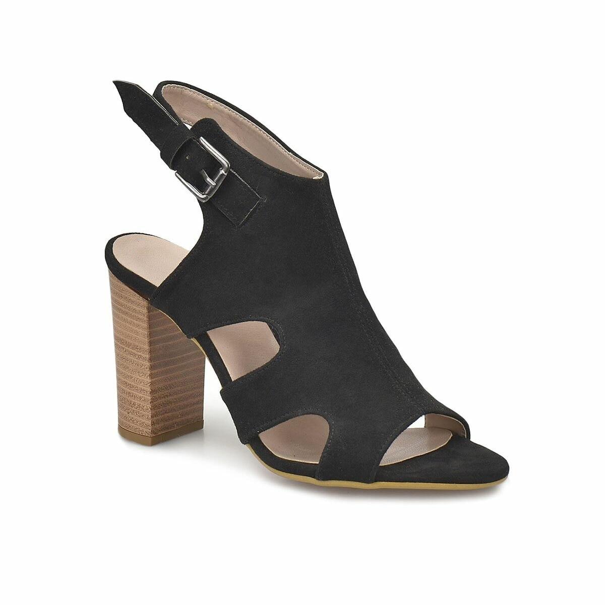 FLO DS18051 Black Women Dress Shoes Miss F