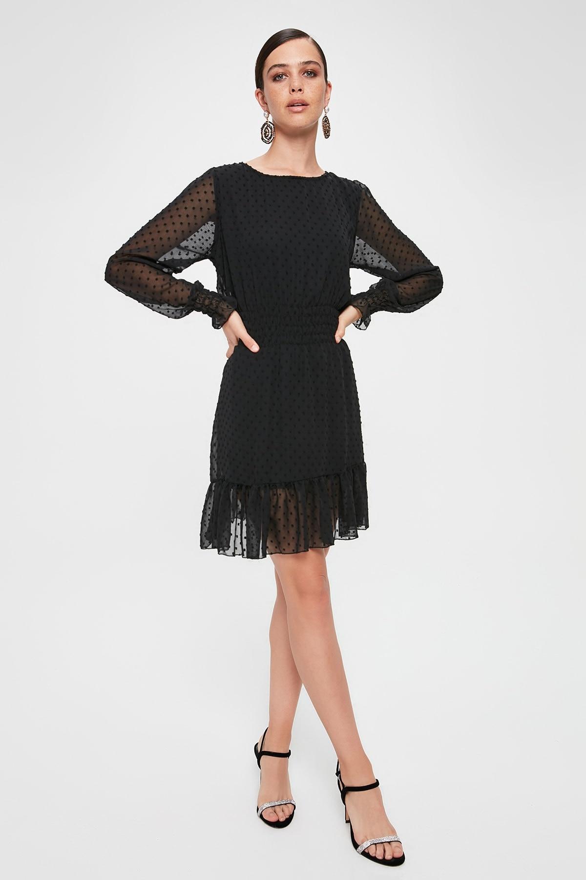 Trendyol Fabric Featured Dress TPRAW20EL2206