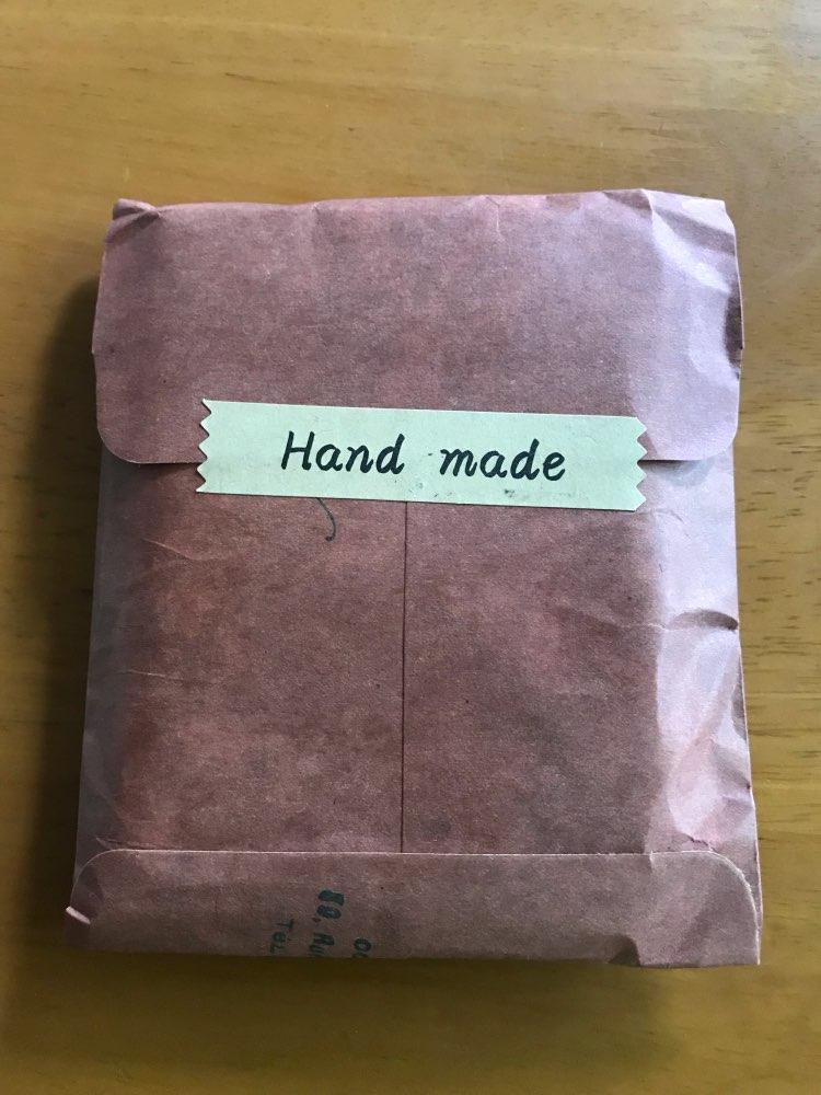 Handmade Genuine Leather Men Id Credit Card Wallet Designer Retro Wallet For Credit Cards Minimalist Wallet Cardholder photo review