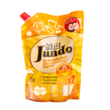 Jundo Конц-ный ЭКО гель с гиалуроновой кислотой для мытья посуды и детских принадлежностей«Juicy Lemon»,800мл