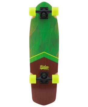 Skateboard cruiser wooden ridex 28.5 x 8.25, abec-5, Eco круизер ridex california цвет бирюзовый 68 5 х 20 см abec seven chrome