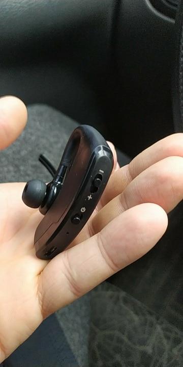 ACLDFH Bluetooth Earphone Fone De Ouvido Headset bluetooth Earbuds V4.0 Wireless Earphones noise canceling earpiece with mic-in Bluetooth Earphones & Headphones from Consumer Electronics on AliExpress