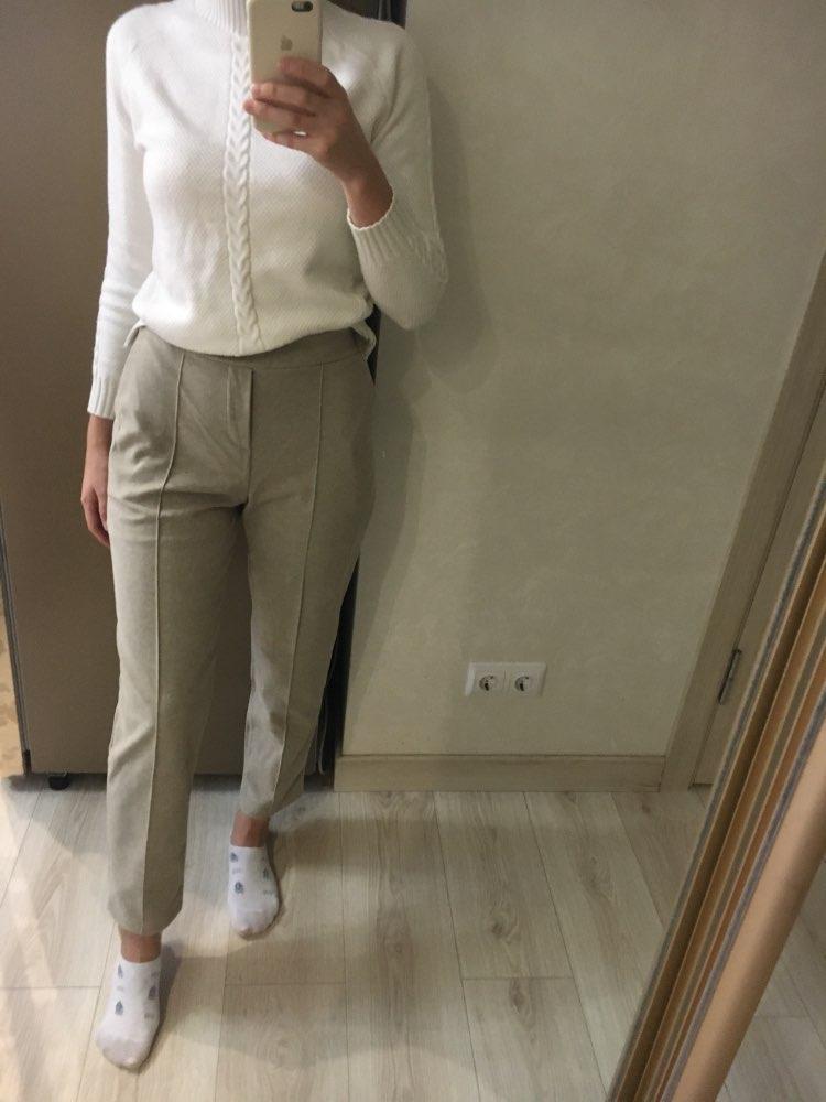 Women Pencil Pants Autumn Winter Plus Size Ol Style Wool Female Work Suit Pant Loose Female Trousers Capris photo review