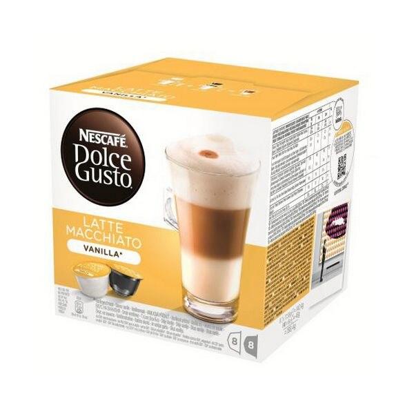 Coffee Capsules Nescafé Dolce Gusto 70676 Latte Macchiato (16 Uds) Vanilla