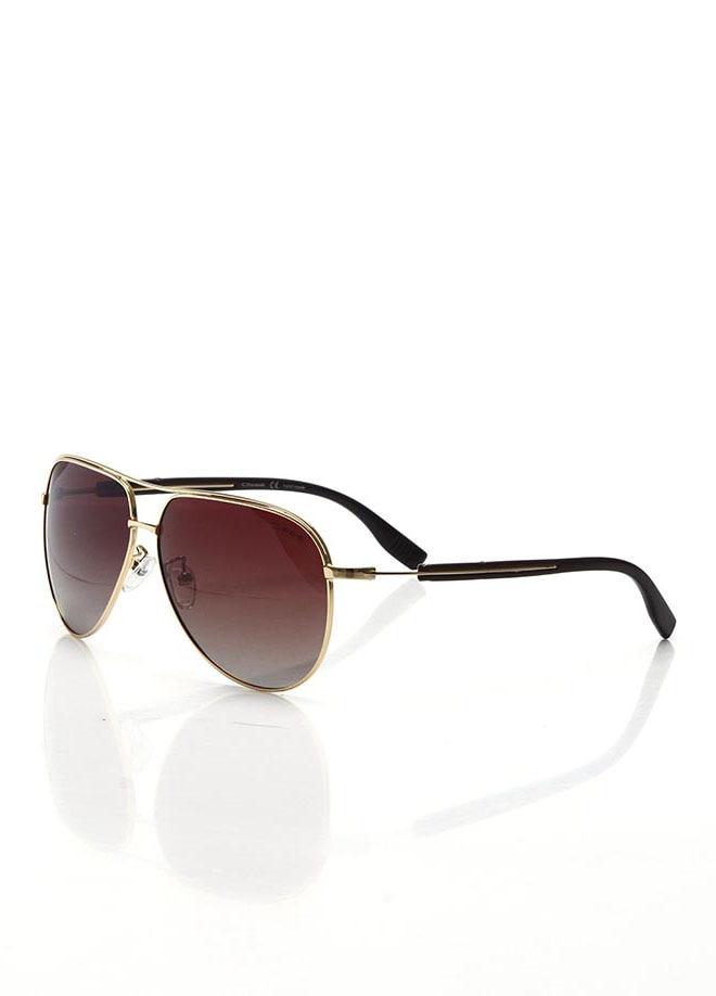Men's sunglasses os 2104 04 metal gold organic drop pilot 61-12-135 osse