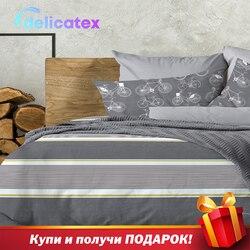 מצעי סט Delicatex 15349-1 + 15350-1Amsterdam בית טקסטיל מצעי סדינים כרית מכסה שמיכה כיסוי Рillowcase