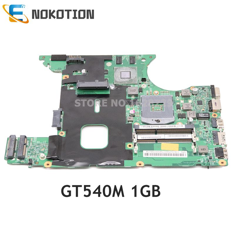 NOKOTION 11S1101405 For <font><b>Lenovo</b></font> ideapad <font><b>V470</b></font> V470N laptop <font><b>motherboard</b></font> 14'' HM65 DDR3 GT540M 1GB full test image
