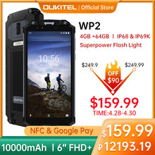 Oukitel wp2 nfc ip68 4g smartphone 4gb 64gb 6.0