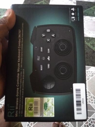 -- Teclado Touchpad Controlador