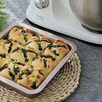香味十足的葱香黄油小面包的做法图解9
