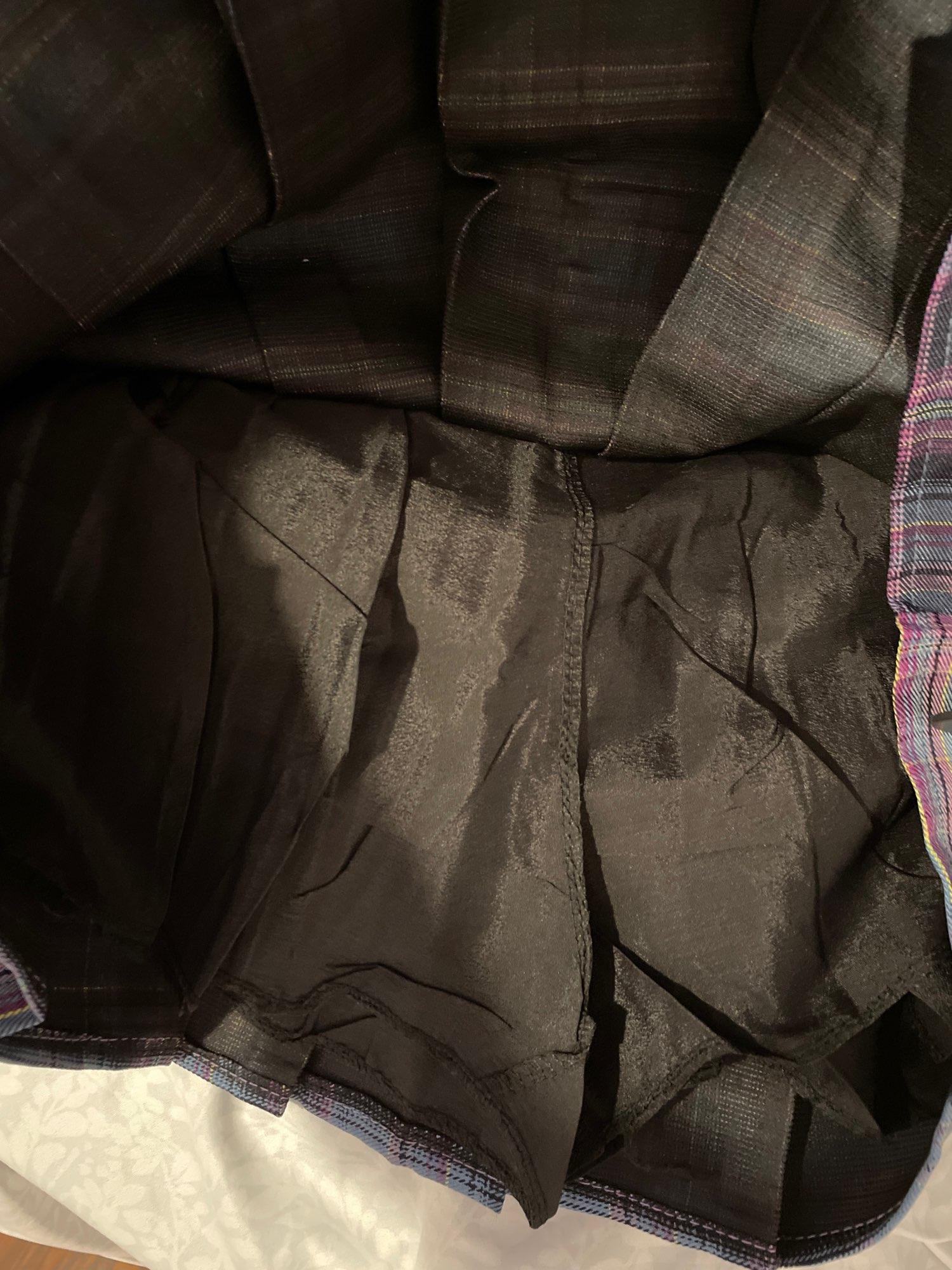 Harajuku Plaid Skirt with Chain photo review