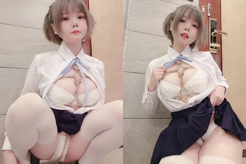 きょう肉肉 – 幻想的女子高中生 [7P+2V/94M] cosplay 第1张