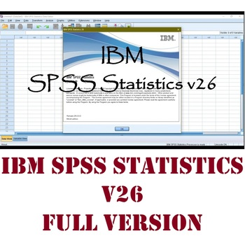 SPSS Statistics Version 26 - Full Activation - For Windows 10 64 Bits PC Only - Worldwide Delivery keith mccormick spss statistics for dummies