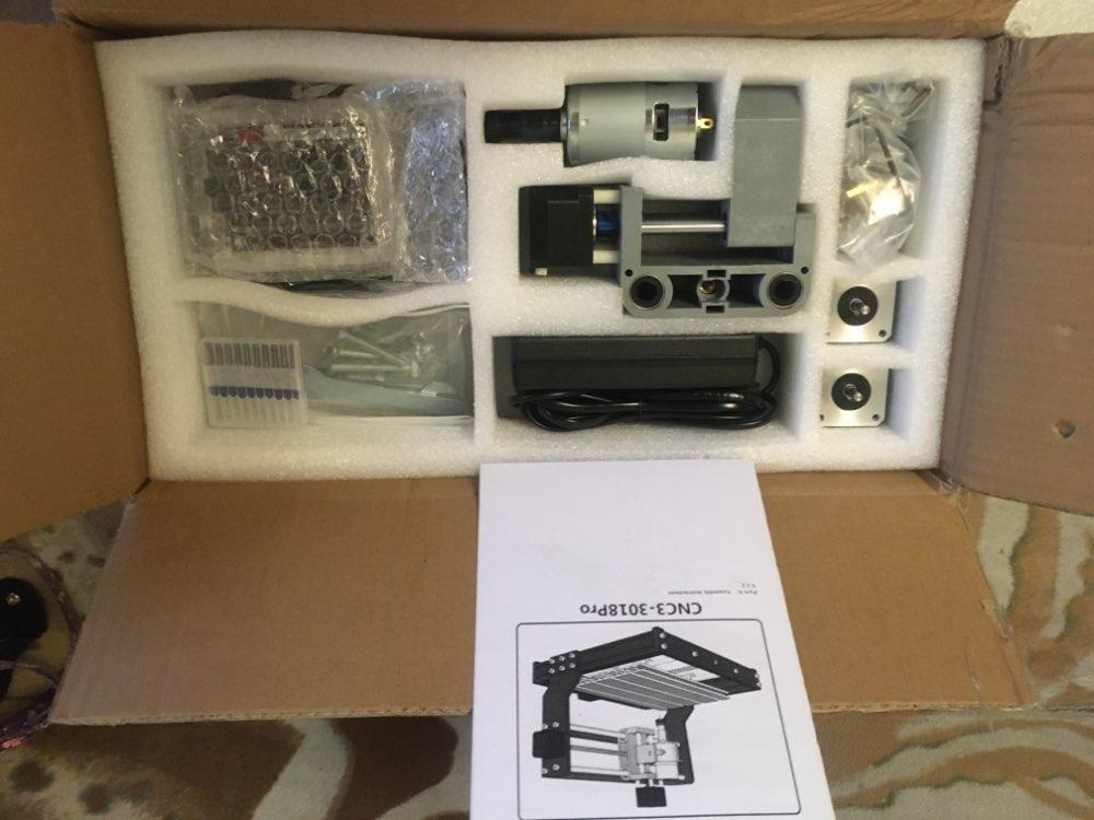 CNC 3018Pro 5500mW photo review