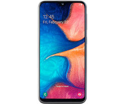 Смартфон Galaxy A20E 3 ГБ 32 ГБ Черный Смартфон Мобильный Samsung