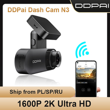 Ddpai Smart Dash Cam N3 2K Hd Voertuig Drive Android Wifi Connect Car Dvr Spraakbesturing 24H Parking