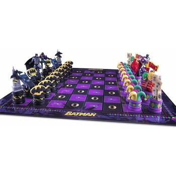 PRESTIJHOME Batman Chess Set (Dark Knight vs Joker)